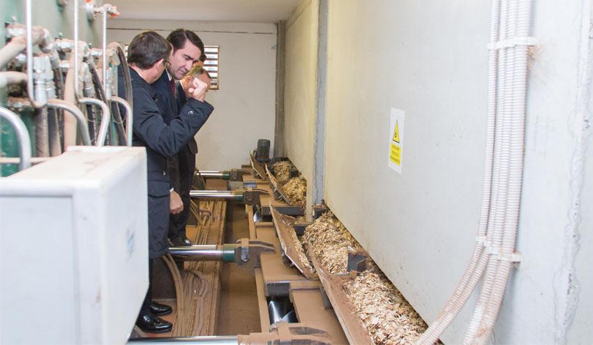 Inaugurada la Red de Calor Urbana con biomasa forestal de la Universidad de Valladolid