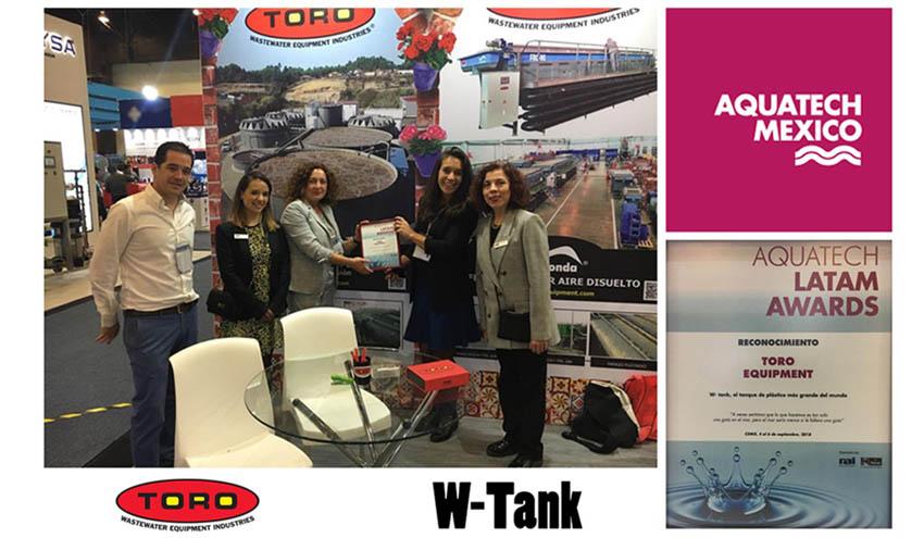 W-Tank® recibe el reconocimiento de Aquatech México