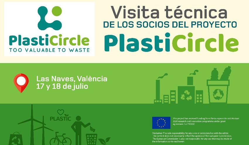 Valencia acoge una reunión del proyecto PlastiCircle que reinventará el reciclaje de envases plásticos