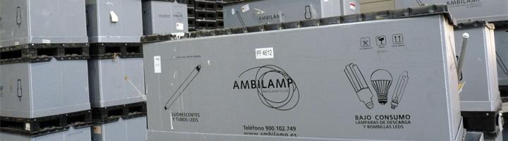 AMBILAMP gestionará la recogida de los residuos de lámparas y luminarias del municipio toledano de Numancia de la Sagra