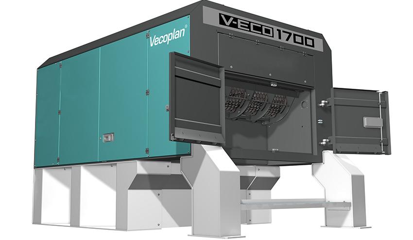 Vecoplan mostrará soluciones eficientes para el reciclaje en la feria K 2019