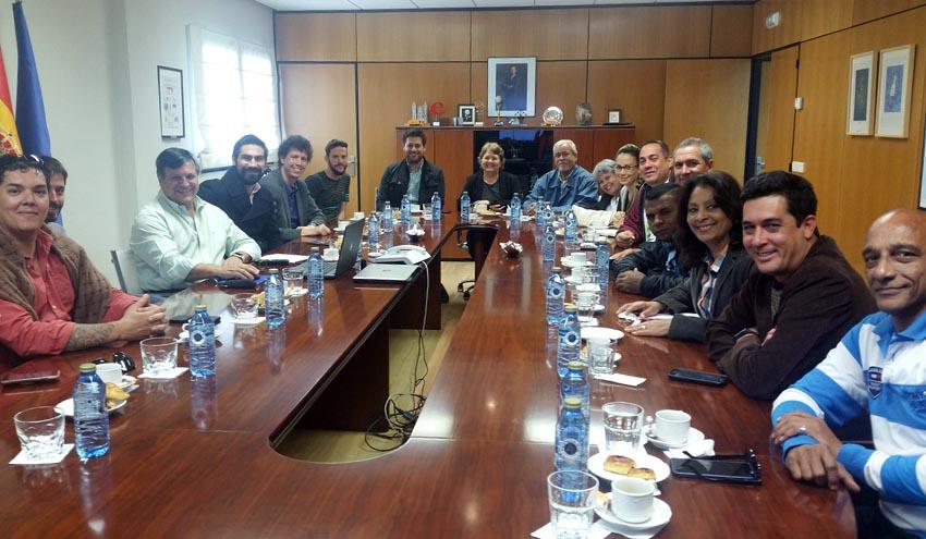 Técnicos cubanos y costarricenses visitan el Complejo Medioambiental de Sogama