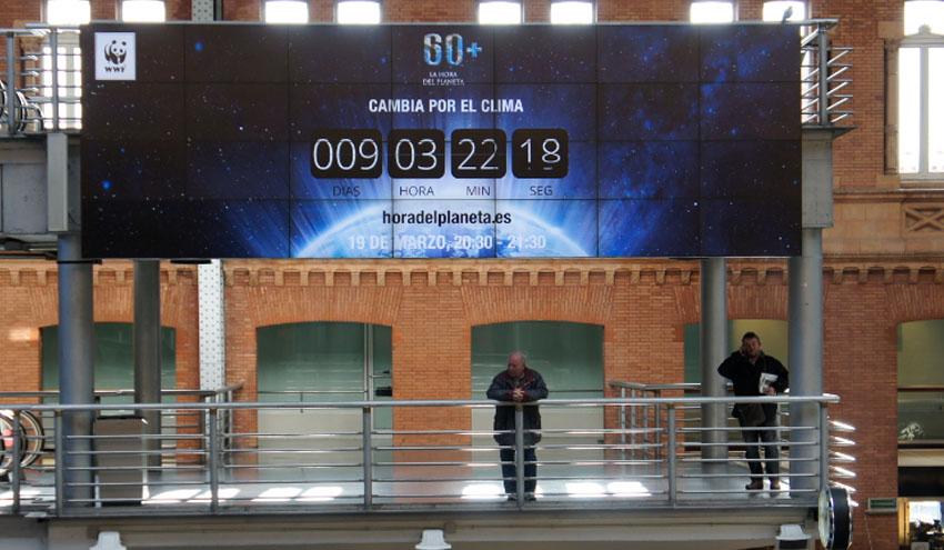 'La Hora del Planeta' bate récords con la participación de 178 países