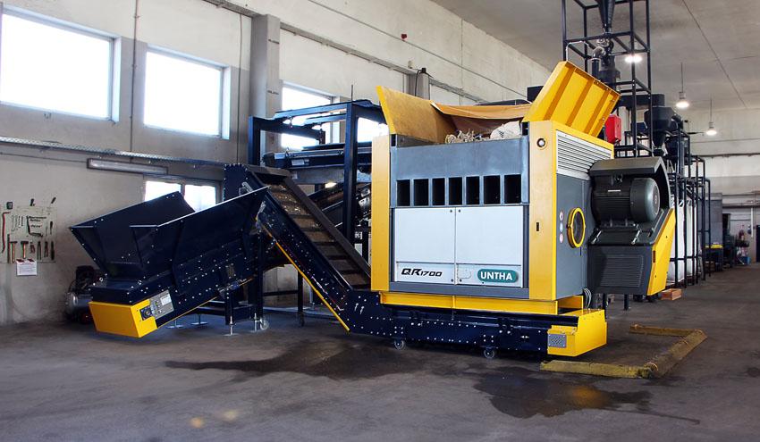 CANDI Plastic apuesta por la nueva clase QR de UNTHA para el reciclaje de materiales reutilizables