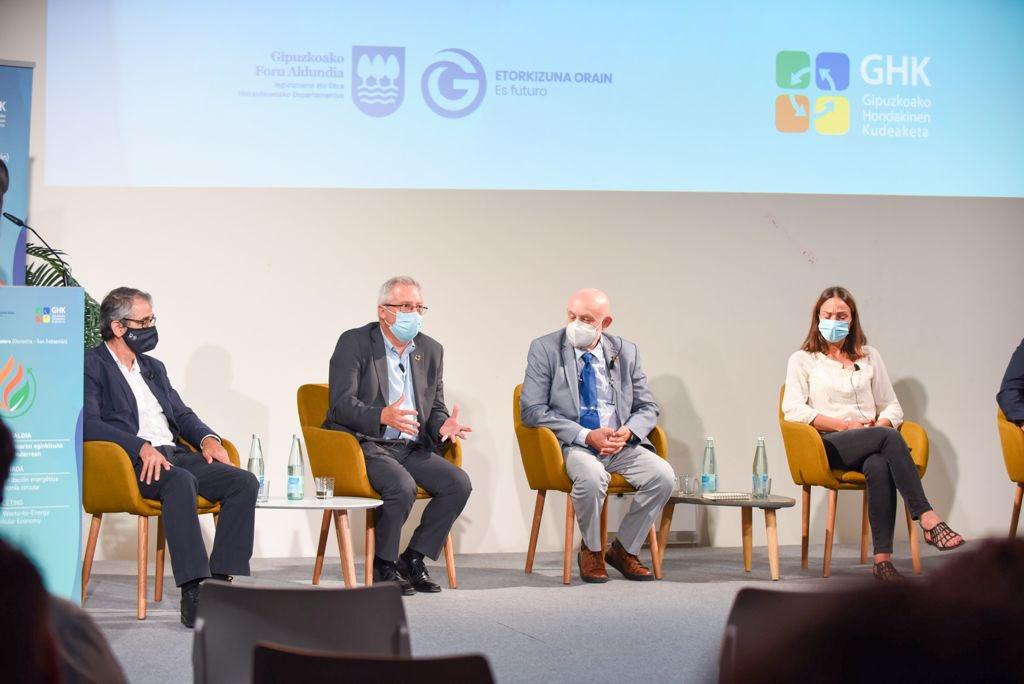 Gipuzkoa debate sobre el papel de la valorización energética en la economía circular