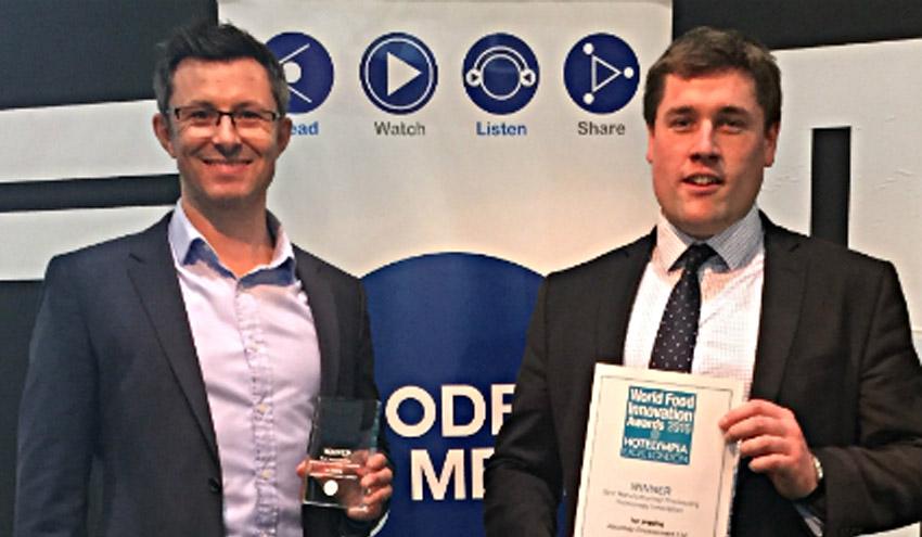 La tecnología Ice Pigging, premiada en UK como mejor Innovación en el sector alimentario