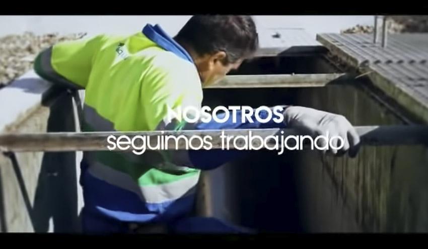 Tu #QuedáteEnCasa, en Aqualia siguen trabajando para garantizar el servicio de agua