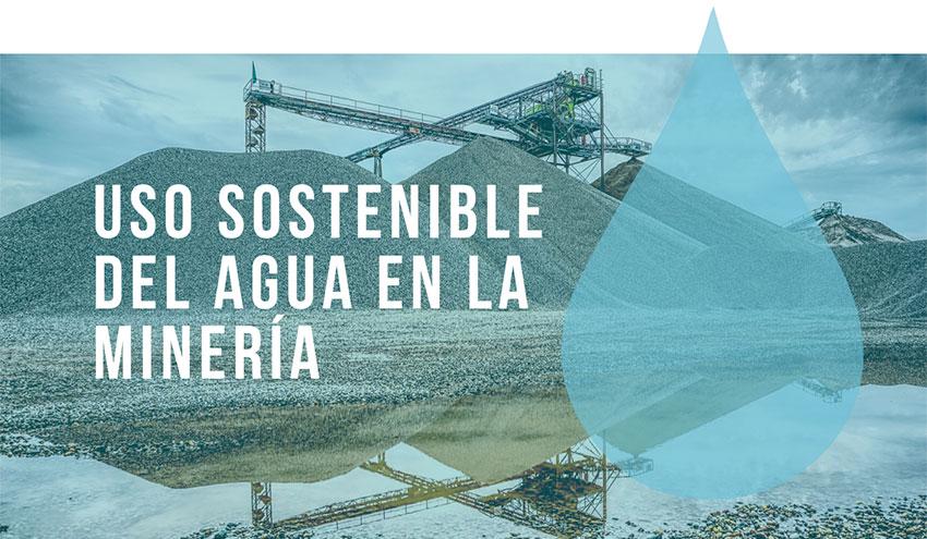 La minería en España, comprometida con el uso sostenible del agua