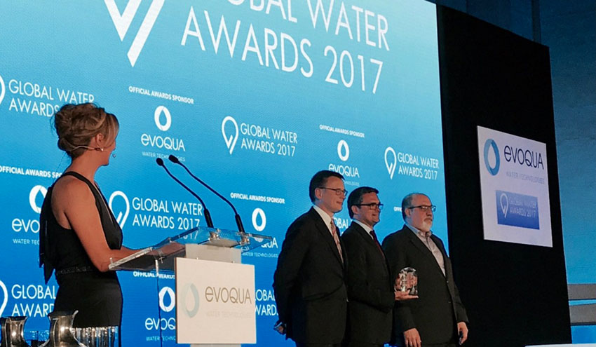 SUEZ, nombrada Smart Water Company of the Year en los Global Water Awards 2017