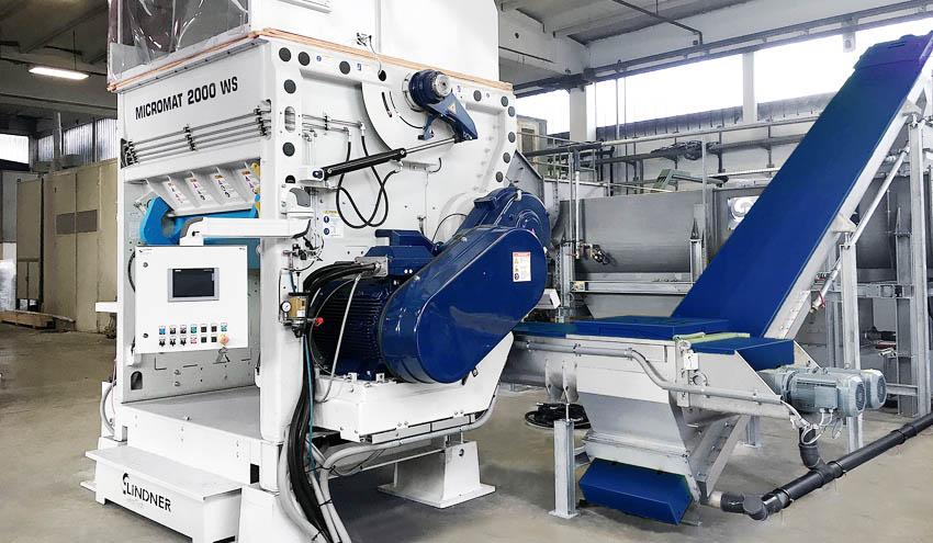 El nuevo triturador en húmedo Micromat WS optimiza el proceso en instalaciones de lavado de plásticos