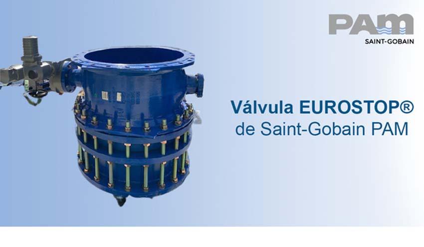 Saint-Gobain PAM en la rehabilitación de un canal de riego con Válvulas EUROSTOP®