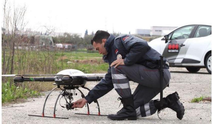 Sogama incorpora drones para mejorar el servicio de vigilancia de sus instalaciones de Cerceda