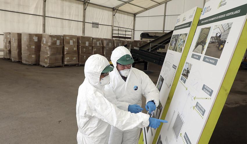 El Gobierno Gallego encarga a Sogama la gestión de cinco toneladas diarias de residuos sanitarios