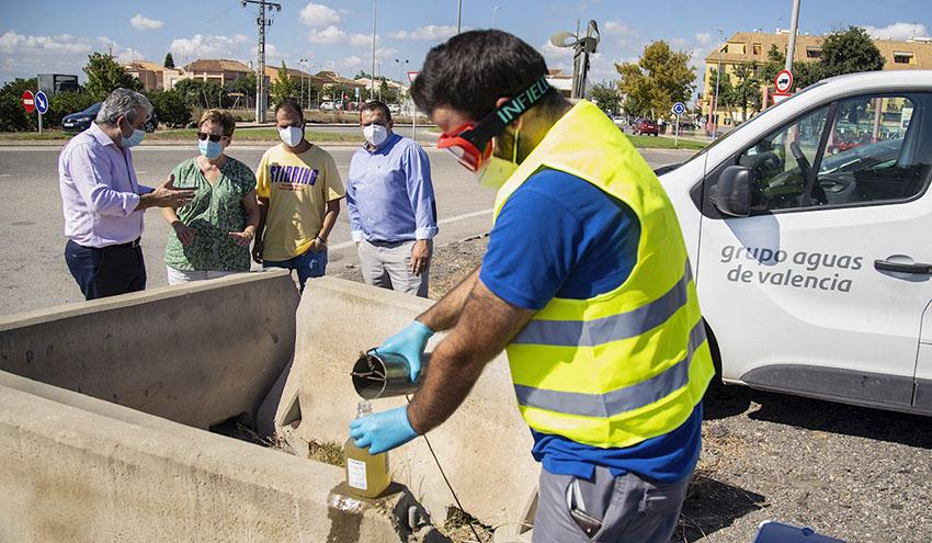 El municipio de El Puig podrá detectar SARS-CoV-2 en sus aguas residuales en menos de 24 horas