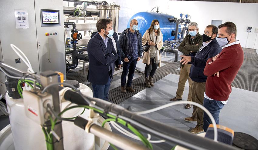 Rafelbunyol contará con una renovada planta de ósmosis inversa de última generación