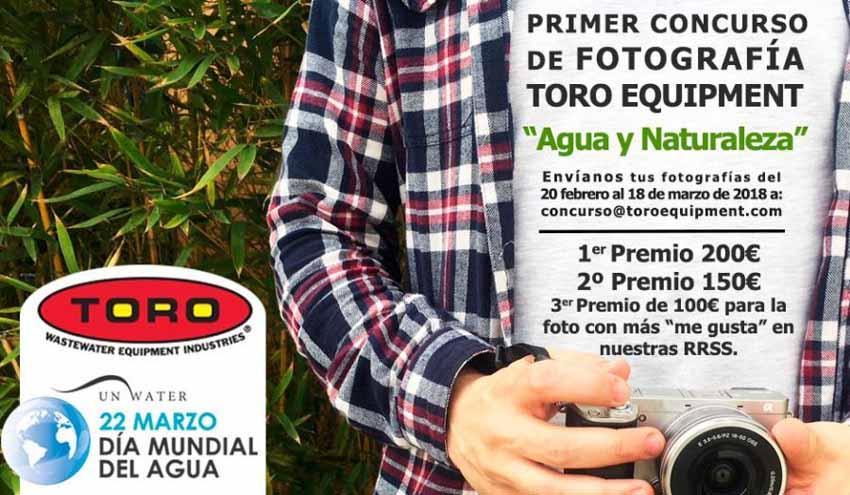 Toro Equipment lanza un concurso de fotografía con motivo del Día Mundial del Agua 2018