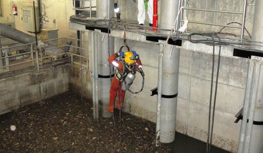 Operación de mantenimiento en la depuradora La Ranilla: un trabajo en condiciones extremas