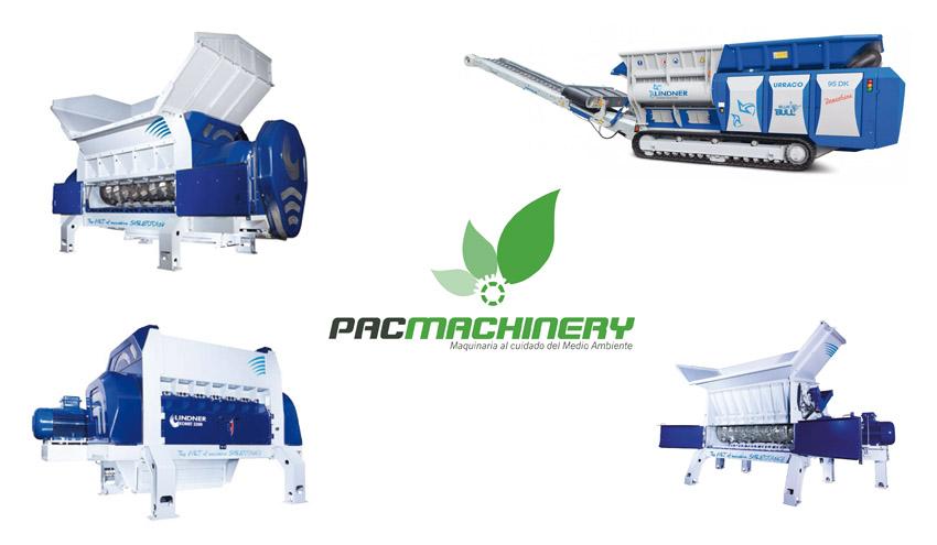 Pac Machinery y Lindner, la combinación ganadora para el reciclaje de residuos