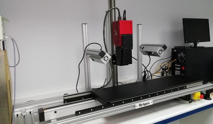 GAIKER adquiere un sistema avanzado de visión hiperespectral reciclado y economía circular