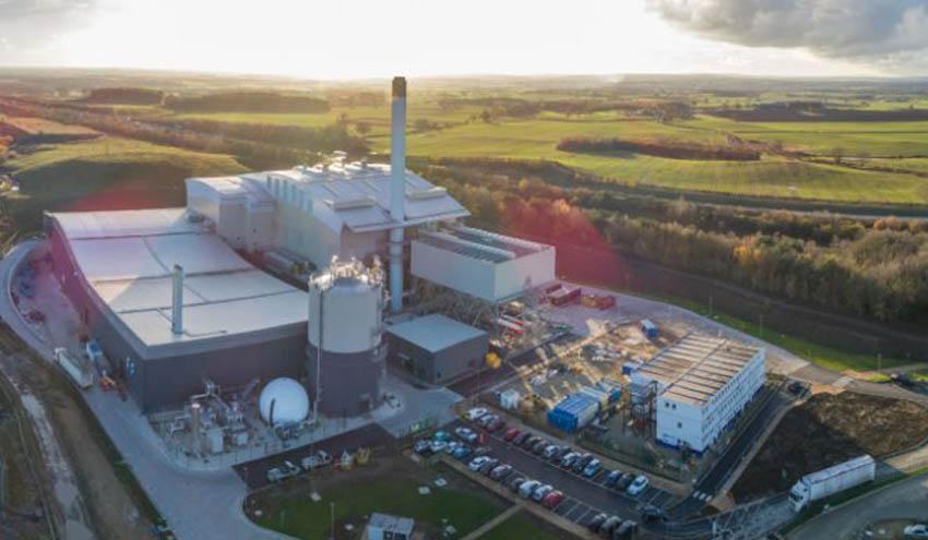 Amey declara operativa su novedosa planta de tratamiento de residuos en North Yorkshire