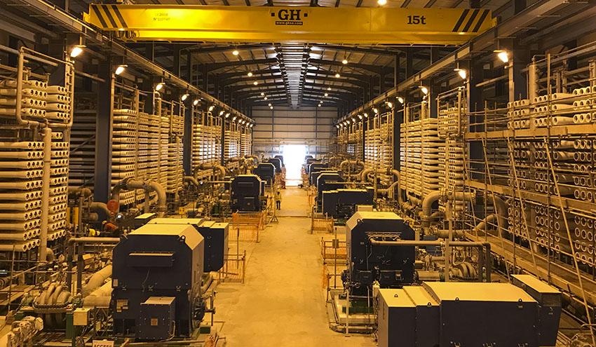 Se cumple un año de la entrada en operación de la desaladora de Shuaibah en Arabia Saudí