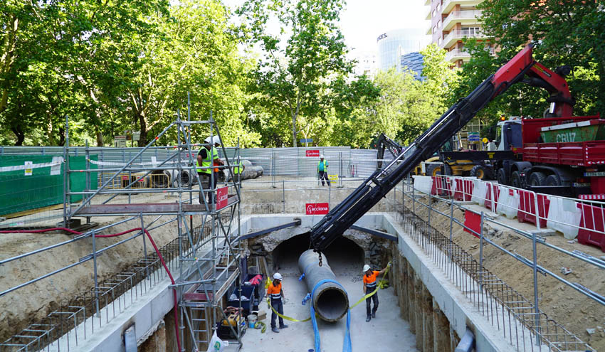 Canal de Isabel II pone en marcha el Plan RED para renovar 3.200 kilómetros de tuberías