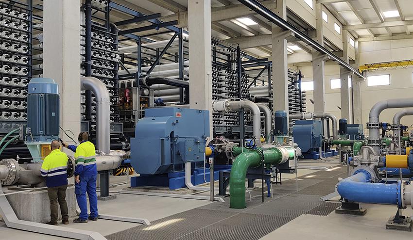 La Desaladora de Mutxamel alcanza los 5 Hm3 de agua suministrada