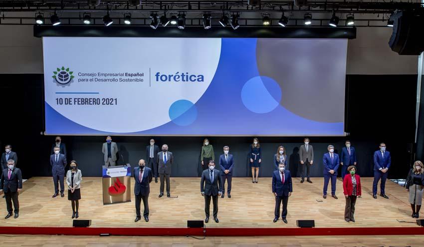 25 Presidentes y CEOs constituyen el Consejo Empresarial Español para el Desarrollo Sostenible