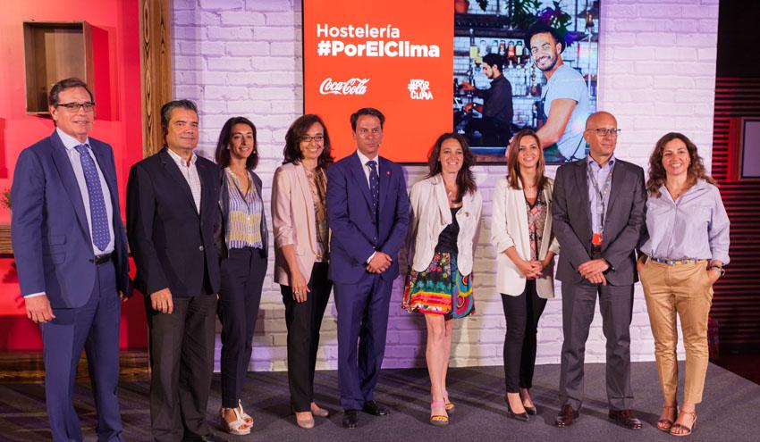 Coca-Cola fomentará la reducción de la huella ambiental en la hostelería