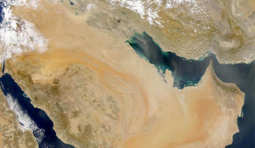 El cambio climático podría elevar las temperaturas en el golfo Pérsico hasta valores sin precedentes