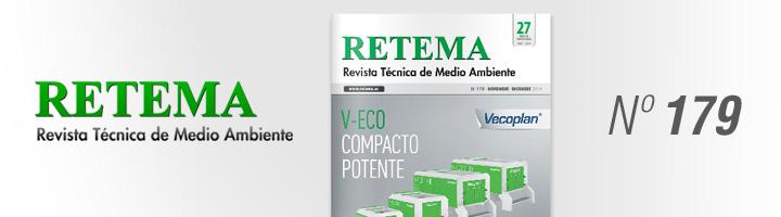Ya disponible la edición nº 179 de RETEMA, número especial sobre tratamiento y gestión de residuos