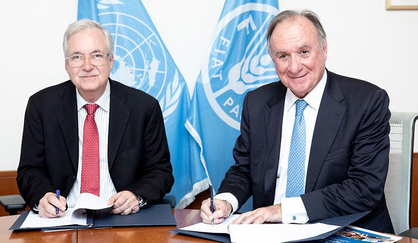 Incatema contribuye a la seguridad alimentaria en los países en desarrollo con la ayuda de la FAO