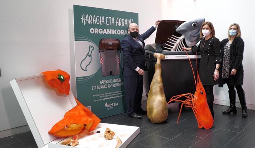 Modificación del sistema de tratamiento de residuos orgánicos en Bizkaia