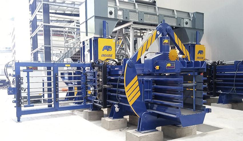 UTE GIREF confía en IMABE IBERICA para el suministro de prensas en la nueva planta de residuos de Ibiza