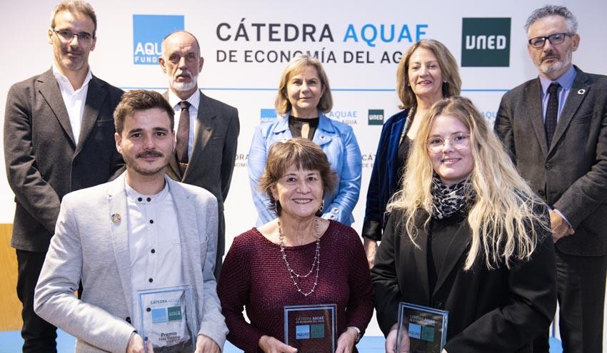 Los Premios Cátedra Aquae de Economía del Agua aumentan su dotación económica en su VII convocatoria