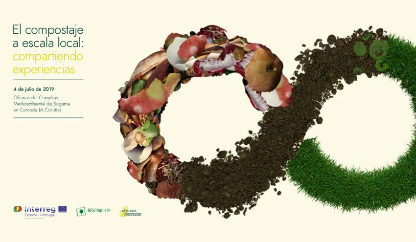 Sogama acoge un nuevo workshop sobre compostaje en el marco del proyecto Res2ValHum