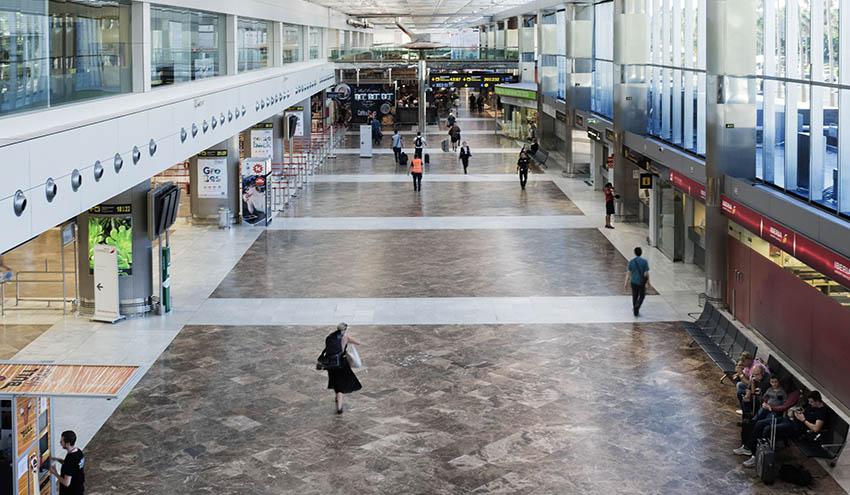 El aeropuerto de Tenerife Sur inaugura su nueva red de abastecimiento de agua
