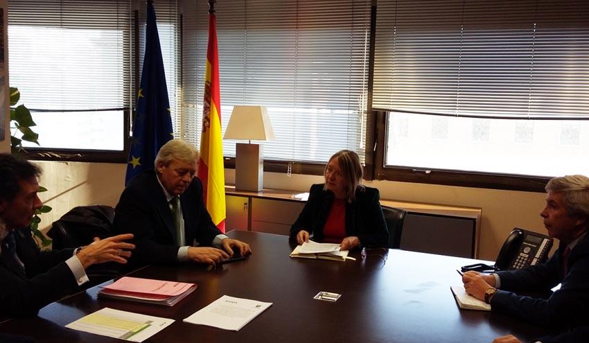 Acuerdo para la ampliación de la potabilizadora de Talavera de la Reina en Toledo