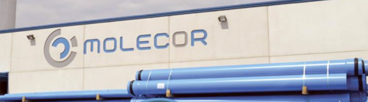 Molecor lanza al mercado la única tubería de PVC Orientado de 800 mm de diámetro