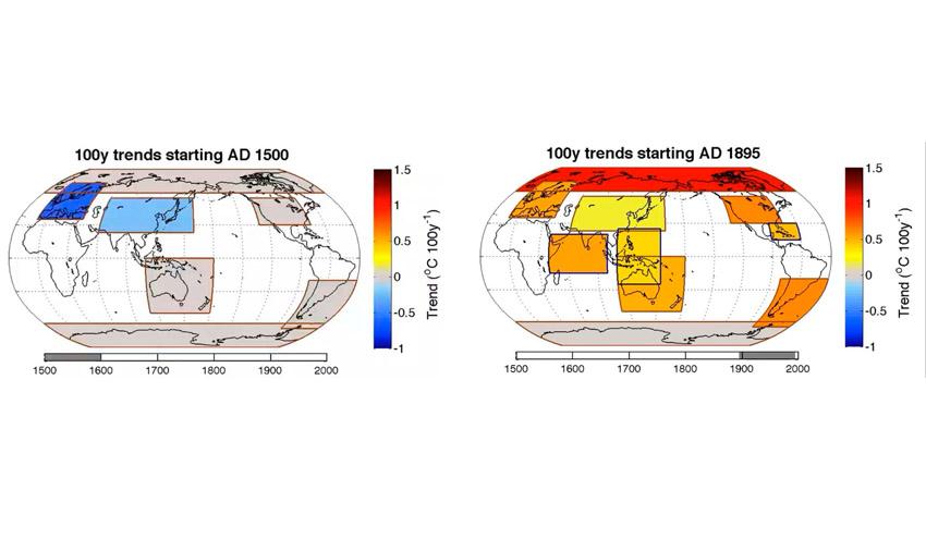 Los primeros signos del cambio climático se remontan al siglo XIX
