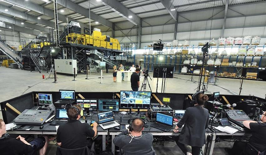 55 países siguieron la retransmisión de la inauguración del nuevo centro de pruebas de STEINERT