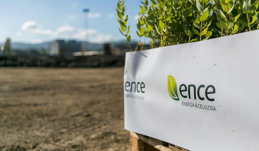 ENCE amplía su financiación verde para la construcción de la planta de biomasa de Puertollano