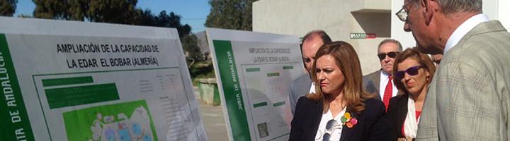 La Junta de Andalucía destina 9,3 millones de euros para ejecutar la segunda fase de la ampliación de la EDAR de El Bobar