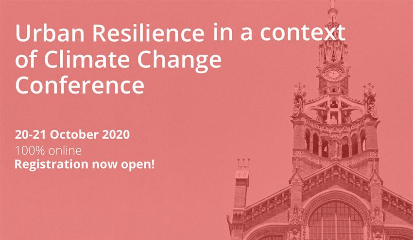 Conferencia URCC 2020: Resiliencia urbana para combatir el cambio climático