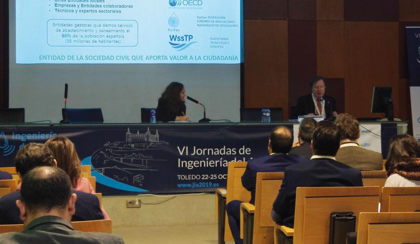 AEAS explica las necesidades para la mejora de la innovación en el sector del agua urbana
