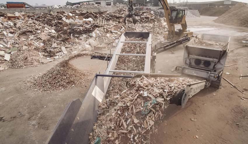Waste Wood Days 2019: Lindner presenta su gama de soluciones para el procesado de residuos de madera