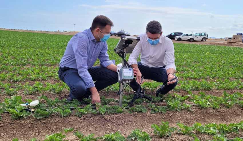 Murcia instala 1.000 sondas en el entorno del Mar Menor para controlar el uso de agua y fertilizantes