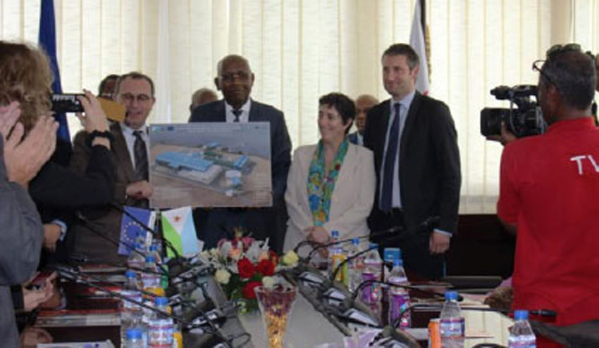 Tedagua lidera la construcción de una planta desaladora en Yibuti