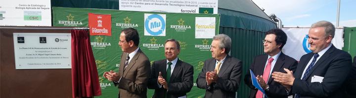 Inaugurada la planta I+D de biometanización de residuos de Estrella Levante en Cañada Hermosa, Murcia