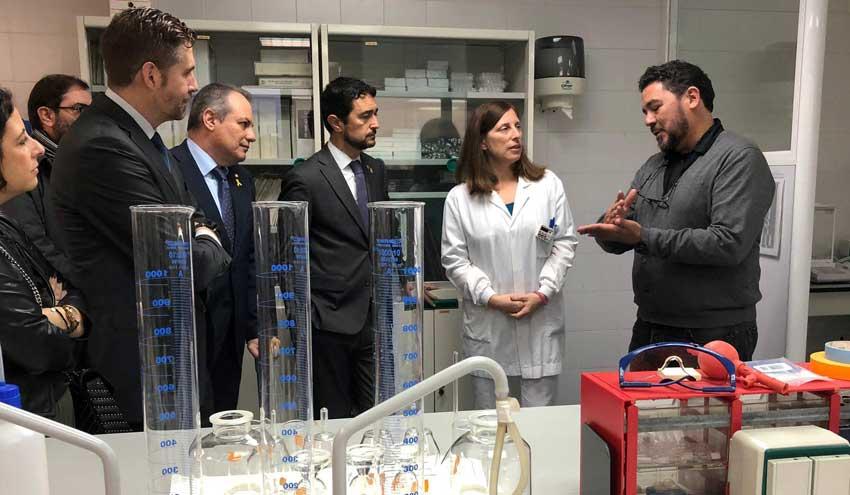 Inaugurada la ampliación del laboratorio de la Agencia Catalana del Agua en Abrera